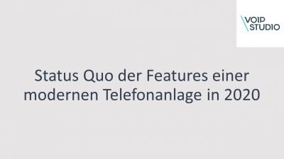 Features einer modernen Cloud-Telefonanlage in 2020 – Video