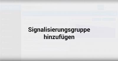 Cloud-Telefonanlagen Tutorial – Signalisierungsgruppen einrichten