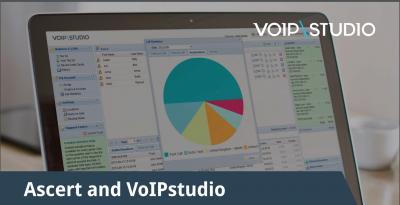 """VoIPstudio veröffentlich eine Case Study <br>""""Wie mittelständische Unternehmen von einer VoIP-Lösung und Cloud-Telefonanlage profitieren können – der Fall Ascert"""""""
